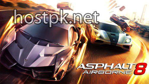 Asphalt 8 Airborne MOD APK
