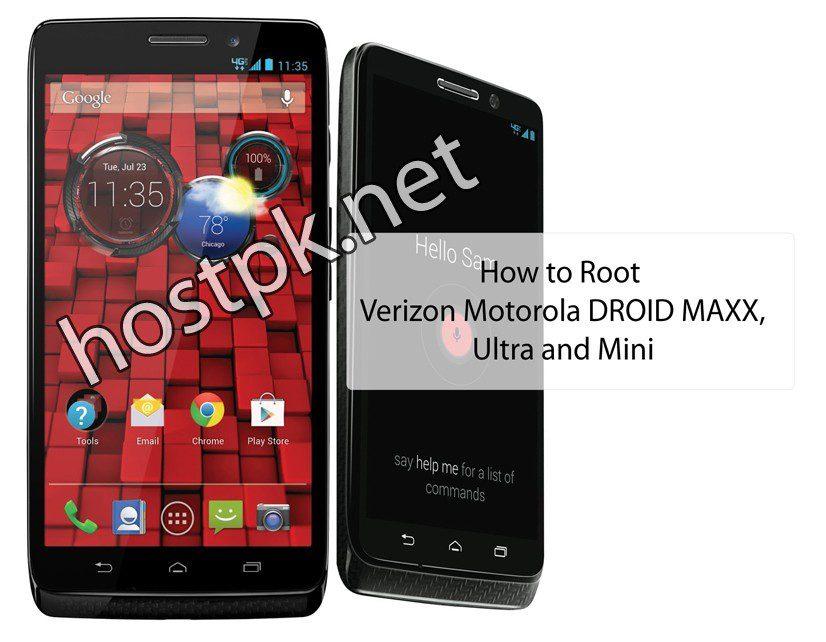 How to Root Verizon Motorola DROID MAXX, Ultra and Mini