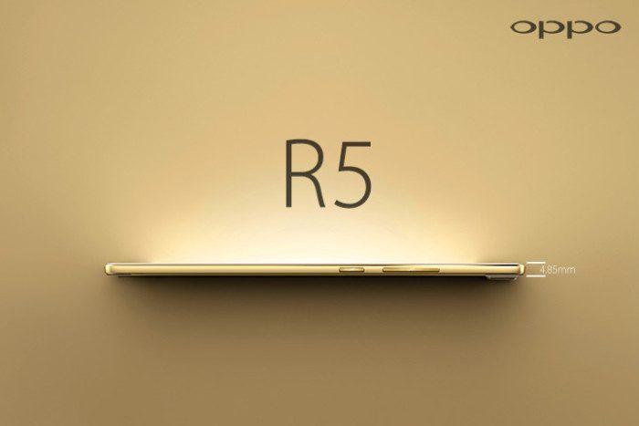 Oppo-R5-World thinness phone