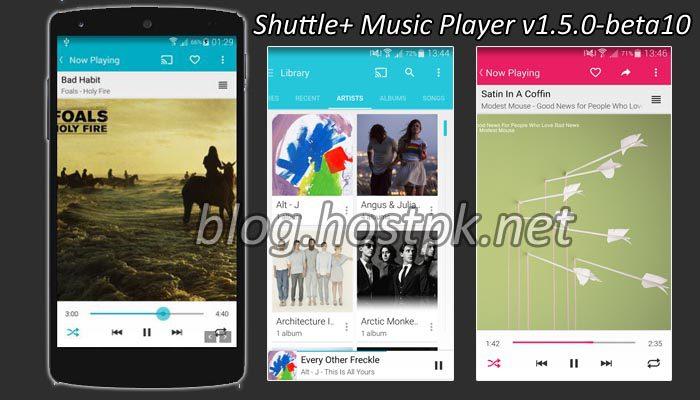 Shuttle+ Music Player v1.5.0-beta10 Apk