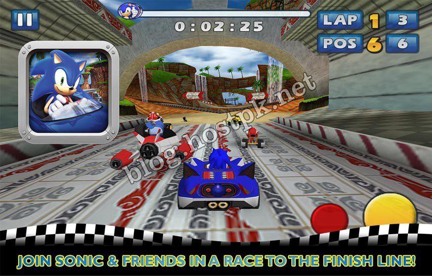 Sonic & SEGA All-Stars Racing v1.0.1 APK+SD Data
