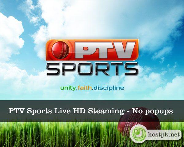 PTV Sports Live HD Steaming – No popups