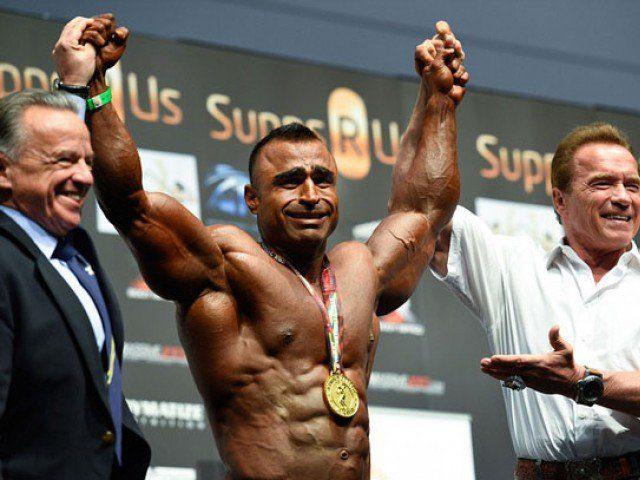 Pakistani bodybuilder wins title at Arnold Classic Australia