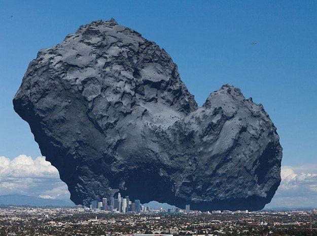 Rosettas Comet
