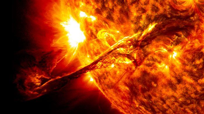 sun-erupting