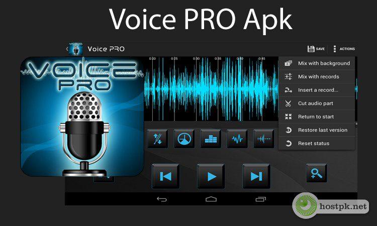 Voice PRO v3.3.9 Apk