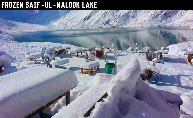 saiful malook lake