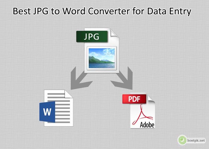 Best JPG to Word Converter for Data Entry
