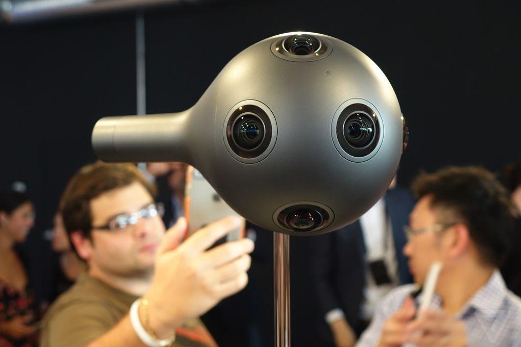 Nokia announces OZO virtual reality camera for professional content creators